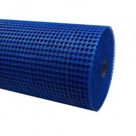 Wap.gaas blauw bui. 100cm/100m