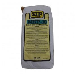 MKP-10 Kalk-cementmortel Tras 25kg