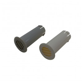 Spouw ventilatierooster grijs p.stuk