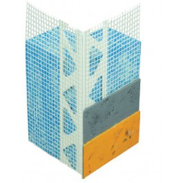 Hoekprofiel 3305 PVC 6mm gaas 2.50mtr