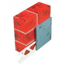 Sokkelprofiel 3333 PVC 11mm 2.0mtr