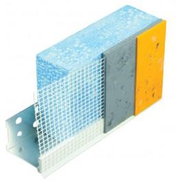 Opsteekprofiel PVC 4650 met gaas 2.5m