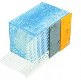 Afwateringsprofiel 6485 PVC+gaas 2.5m